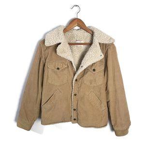 Vintage Corduroy Jacket Fleece Lined Sedgefield